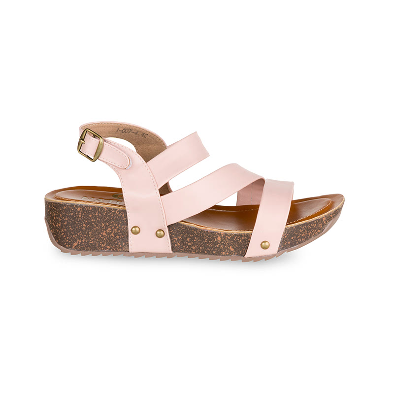 Farabona Cross Over Wedges Pink
