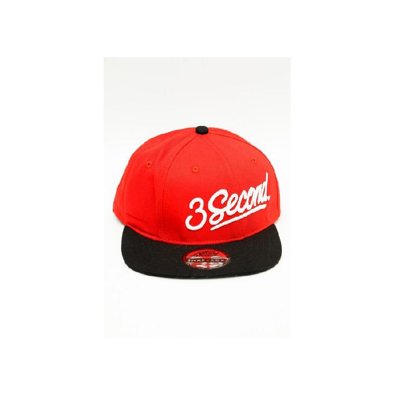 3Second Men Hat 0106 Red