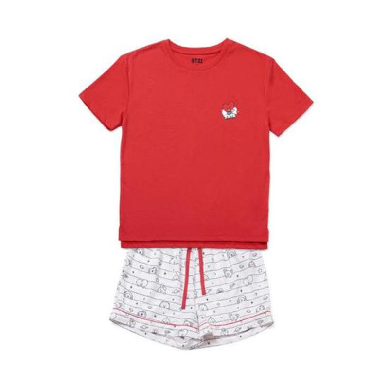 BT21 Tata Comic Pop Pajama Set