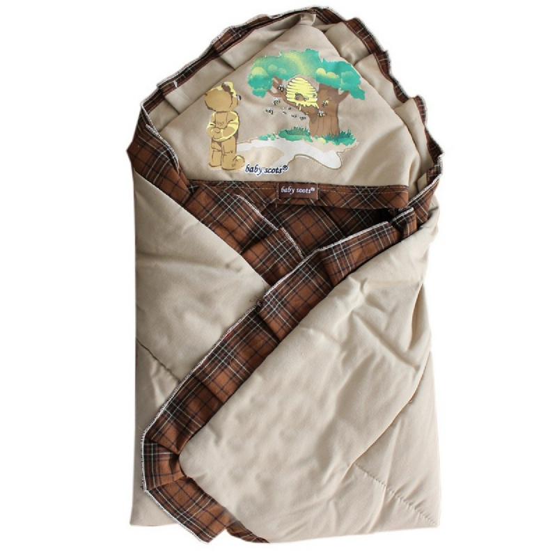 Baby Scots Baby Blanket Baby BlanketISBB010 Cokelat
