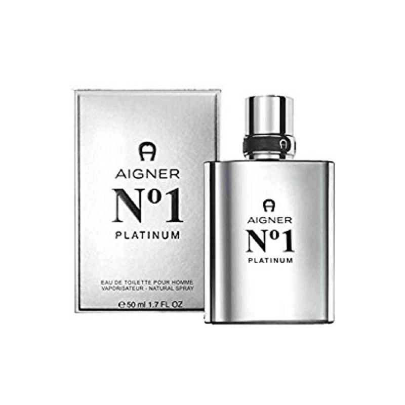 Aigner No. 1 Platinum EDT Spray 50 Ml