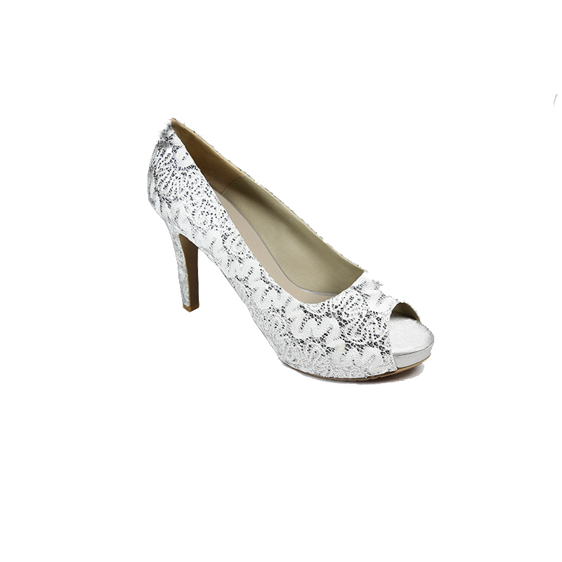 Andre Valentino Evening Shoes Silver