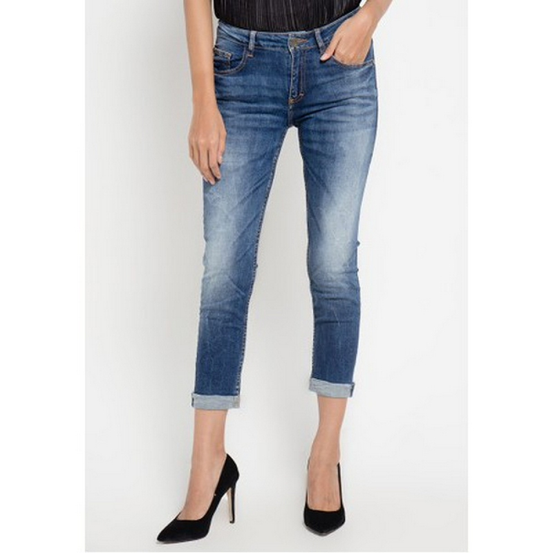 Miyoshi Josei MJ17PA070BK 7 8 Skinny Jeans