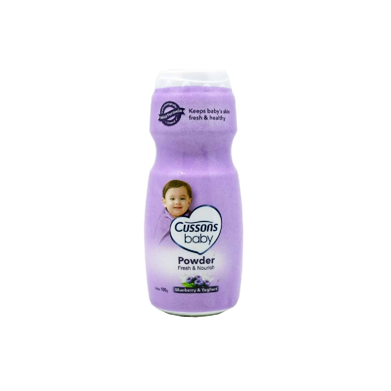 Cussons Bedak Bayi Blueberry Smoothie 100 Gr