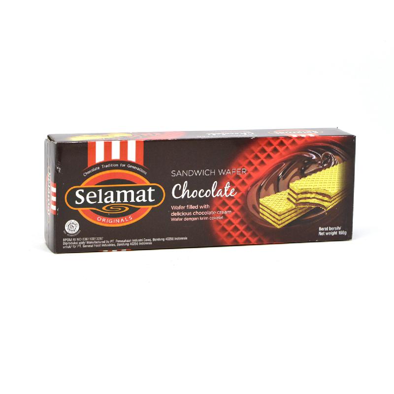 Selamat Wafer Chocolate 198G