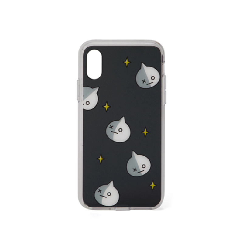 BT21 iPhone X Van Pattern Clear Case