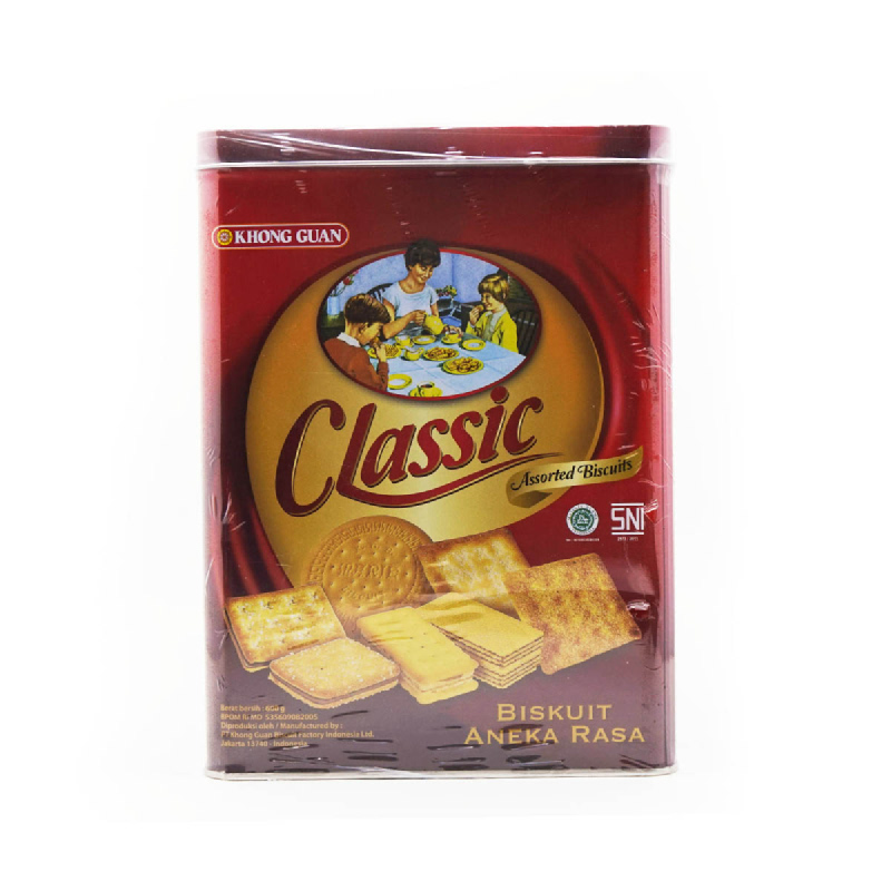 Khong Guan Assorted Biscuit Classic Segi
