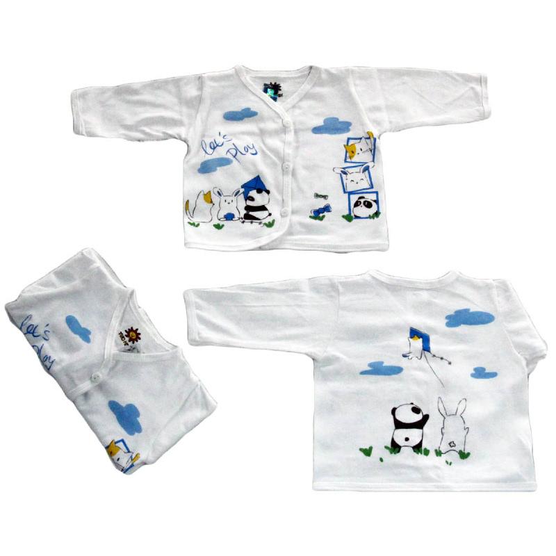 Two Mix Kaos Atasan Putih Lengan Panjang BPP1