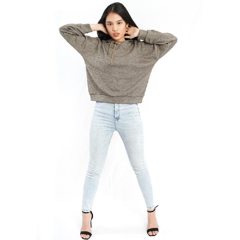 Agatha Agatha Grey Hoodie Sweater Grey
