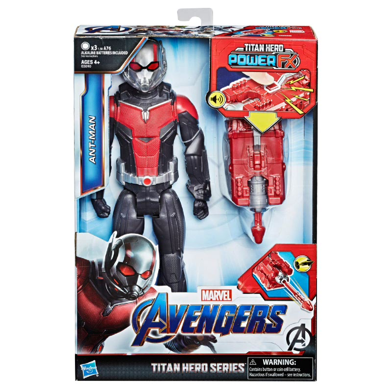 Marvel Avengers Endgame Titan Hero Power FX Ant-Man AVSE3310
