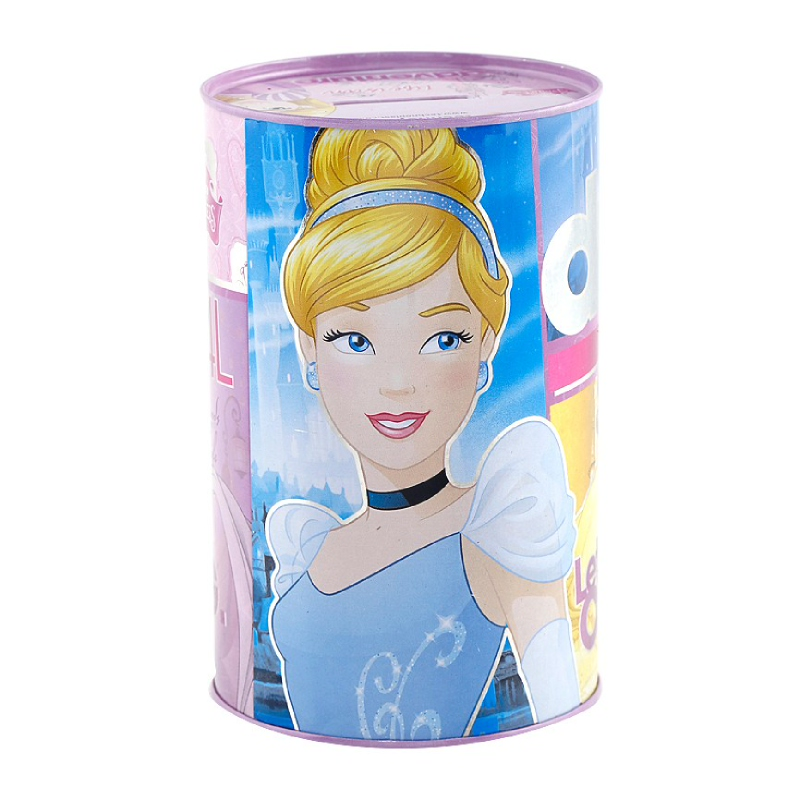 Princess Tin Can Purple 99X145Mm