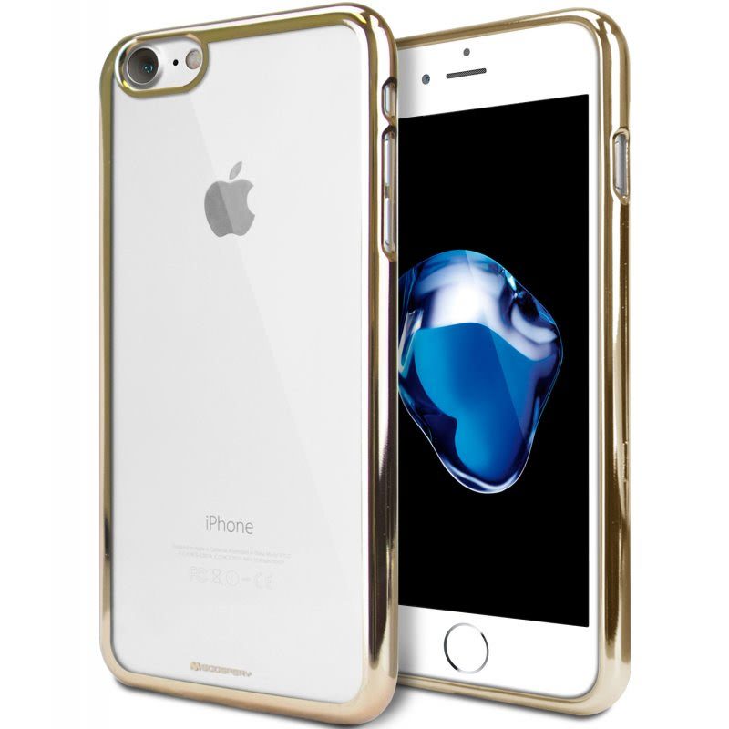 Goospery Ring 2 Jelly for iPhone 7 - Gold