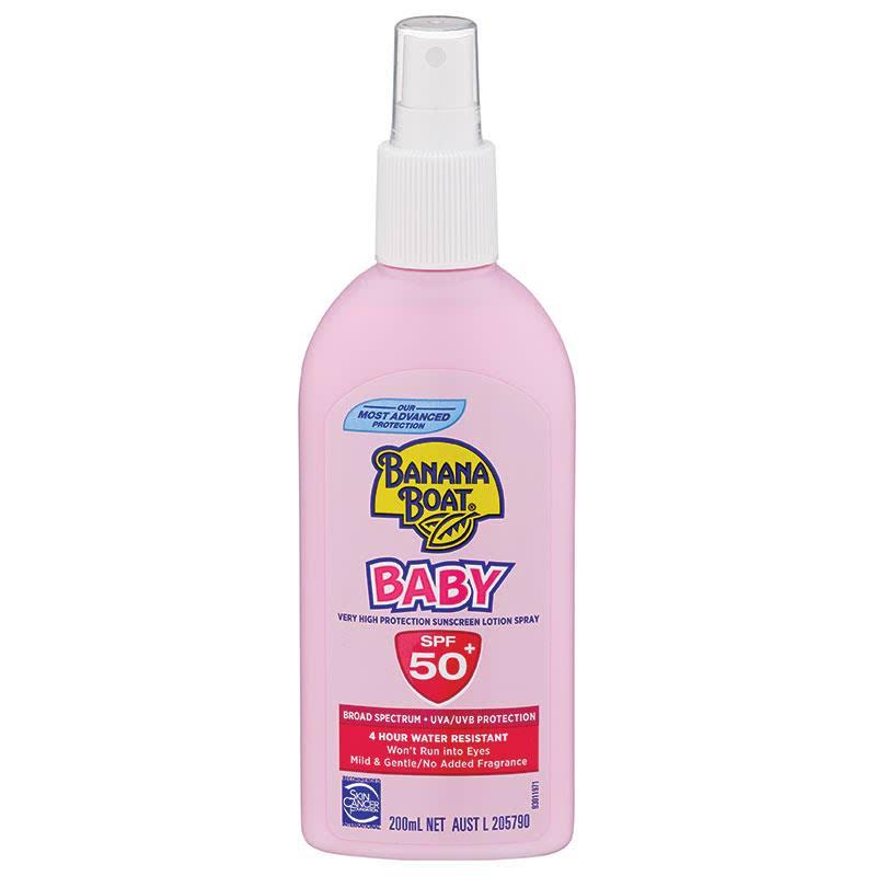 Banana Boat Baby 50+ Spray 200ml