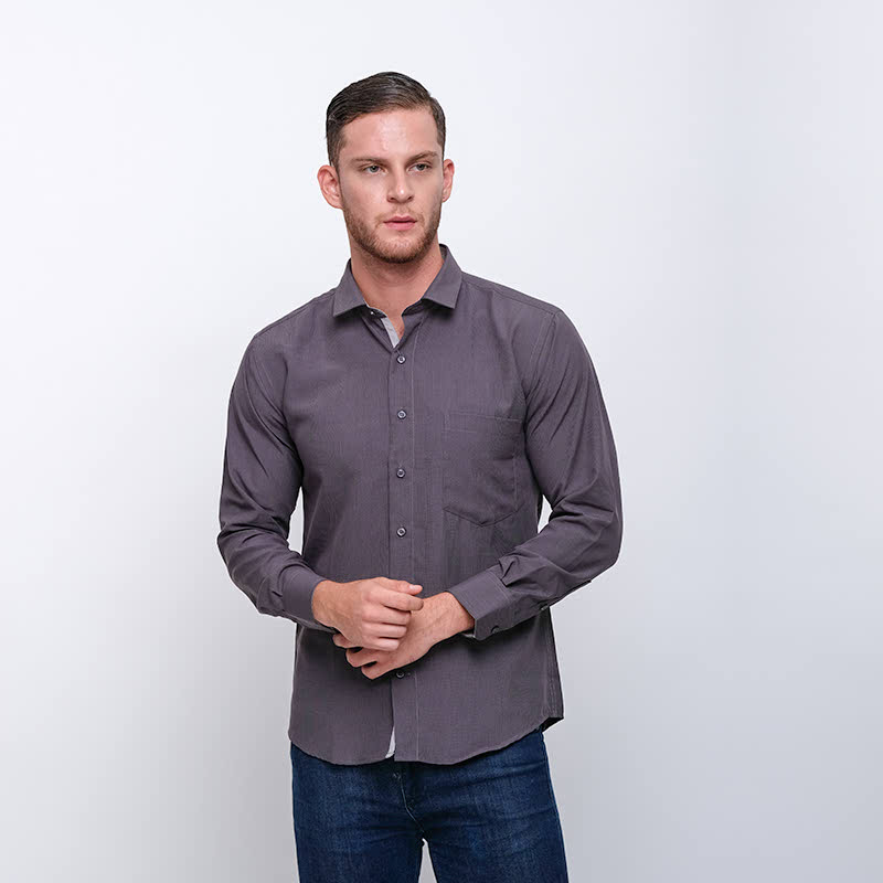 Gianni Visentin Slim Shirt Abu