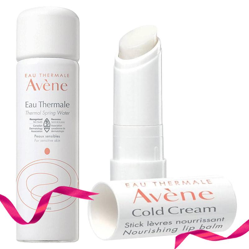 Avene Cold Cream Lip Stick 4,5 g + Avene Thermal Spring Water Spray 50 ml