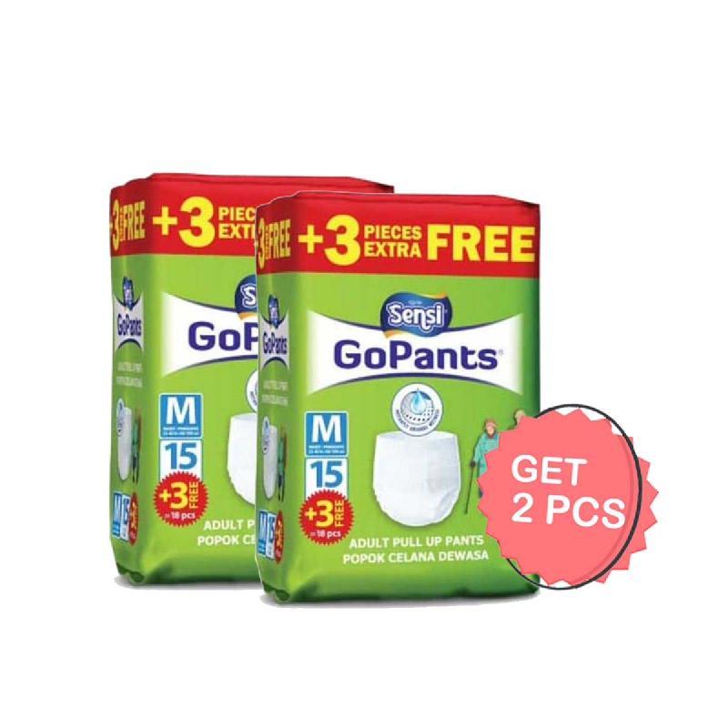 Sensi Gopants Popok Dewasa M 15S (Get 2)