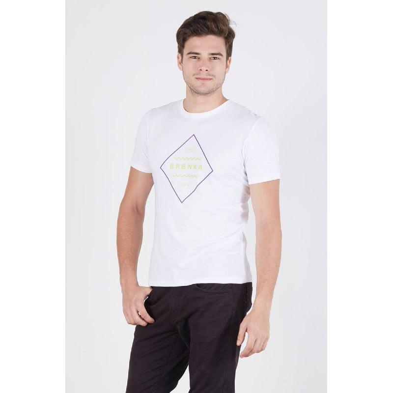 Men Berrybenka Trademark Tshirt White