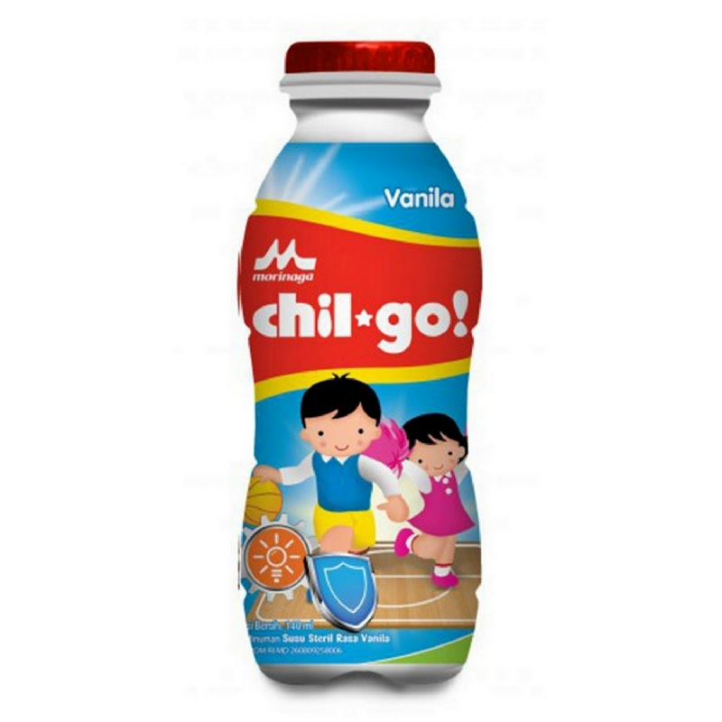 Morinaga Milk Chil Go Vanila Botol 140Ml