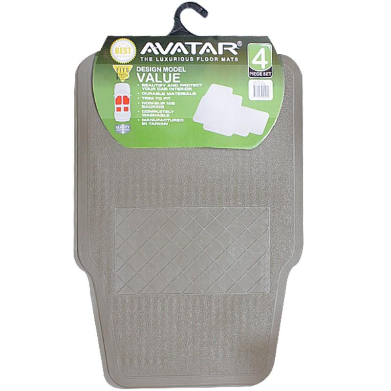 Avatar Karpet 5001 4 Pcs Beige