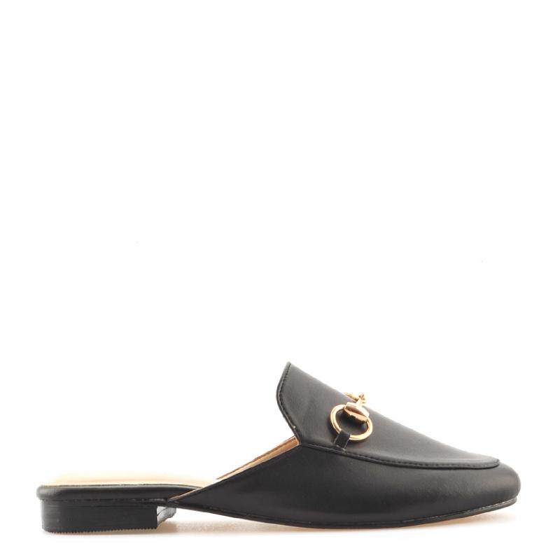 Amante Flat Shoes Elaine I18 Black
