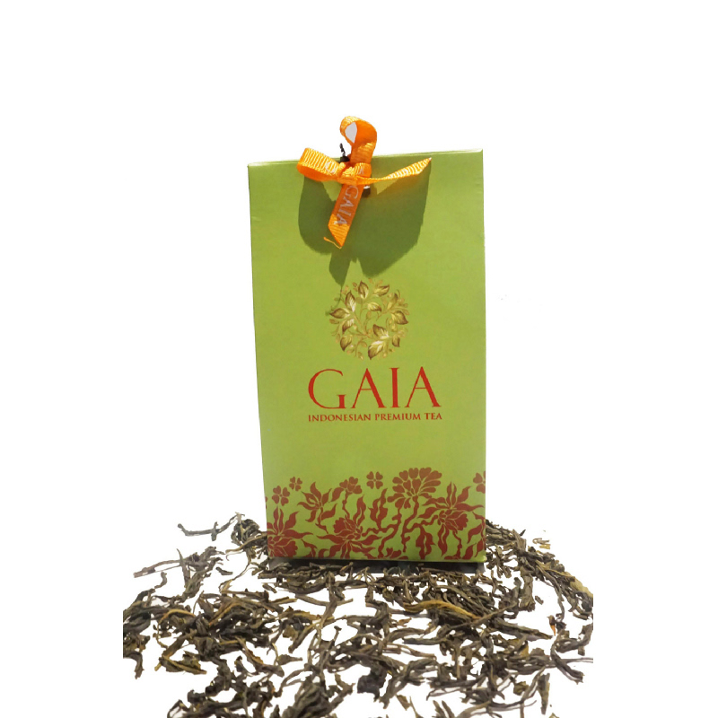 Gaia Tea - Pandanus Green Tea Pouch Kecil