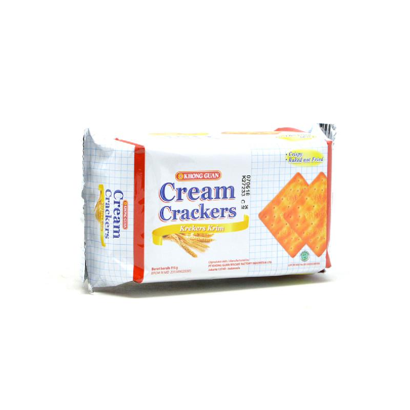 Khong Guan Cream Cracker Pak 137 Gr