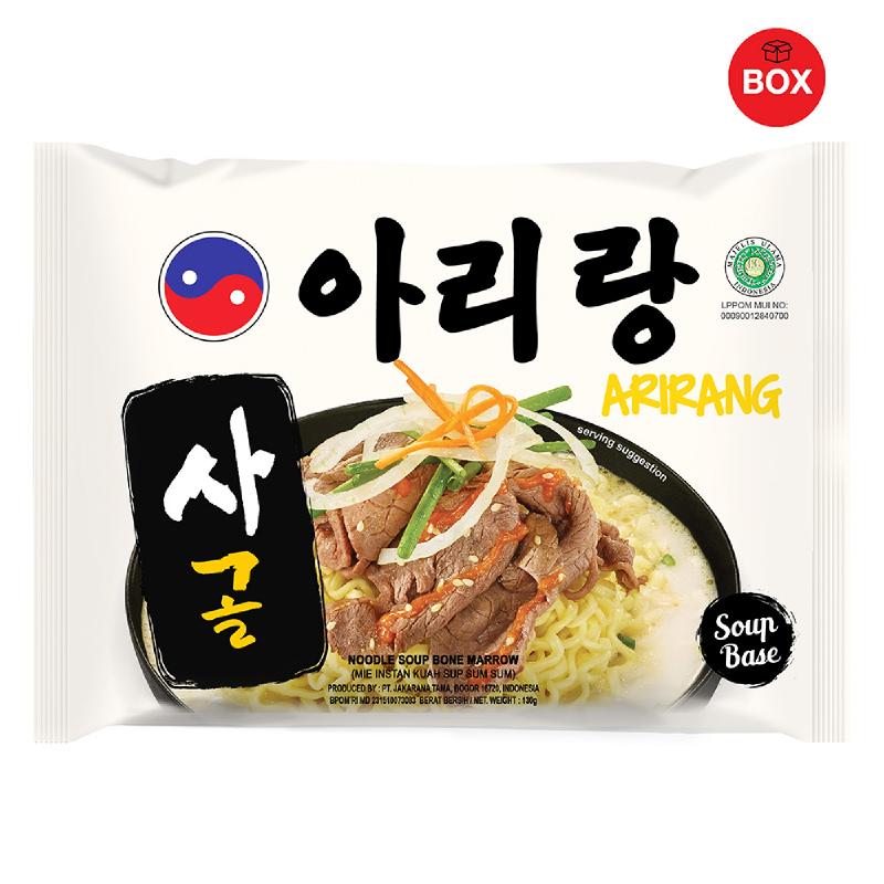 Arirang Noodle Soup Bone Marrow (1 Karton isi 20 Pcs)
