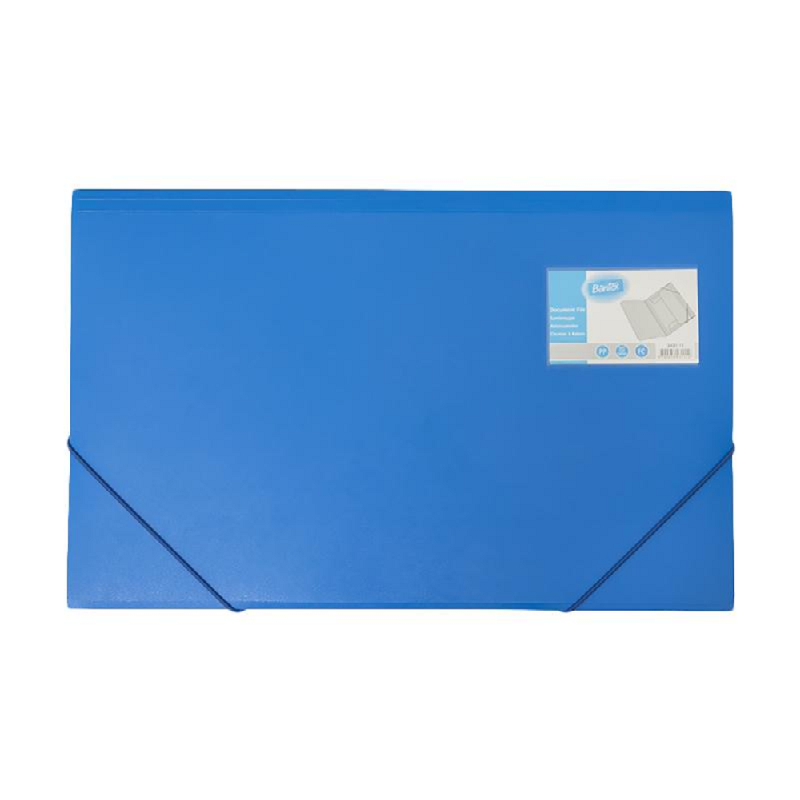 Bantex Document File Folio Cobalt Blue -3431 11