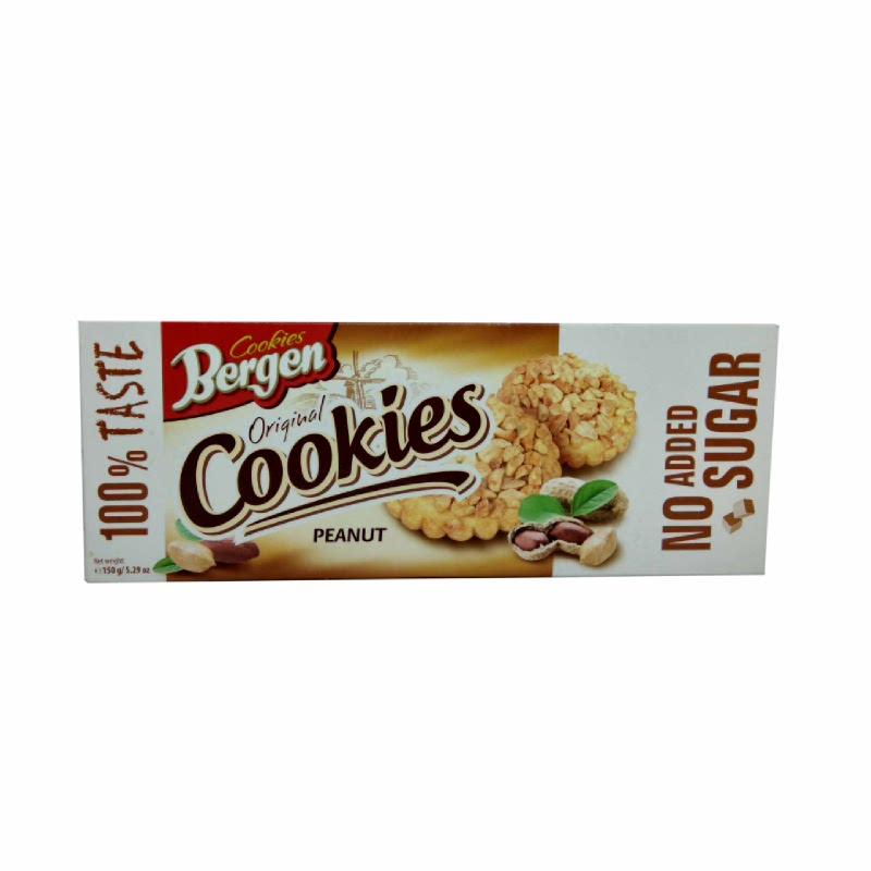 Bergen Sugar Free Peanut Cookies 150 G
