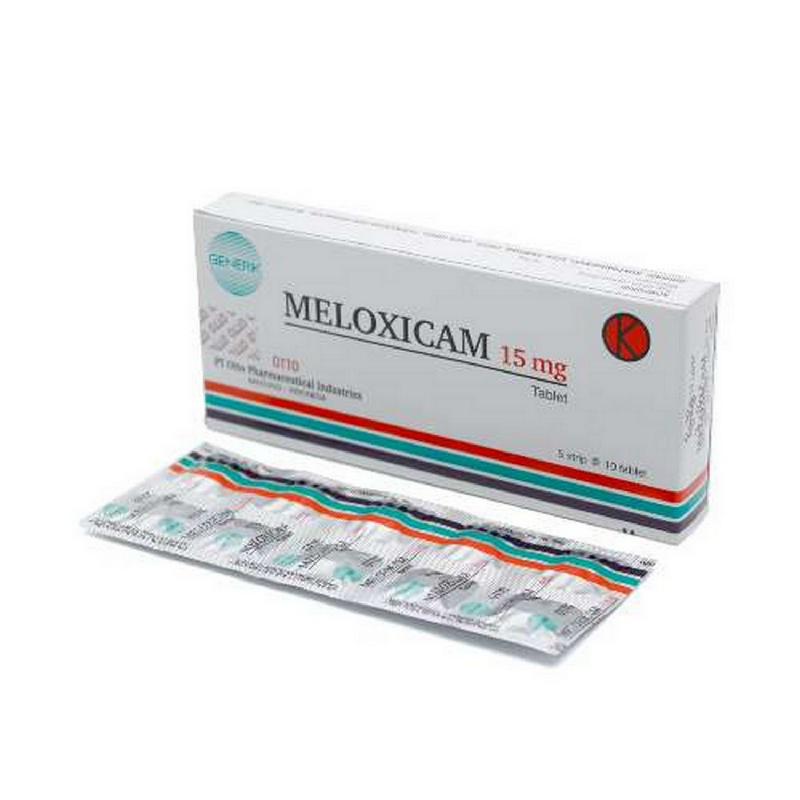 Meloxicam 15 mg Strip Otto