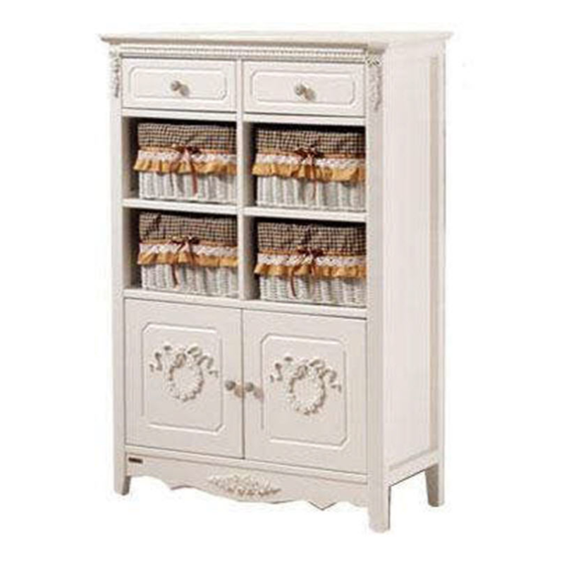 The Olive House  Rosemarry 8 Drawer (White)