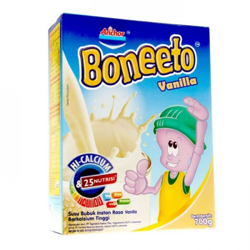 Boneeto Powder Milk Vanila Twister 700G