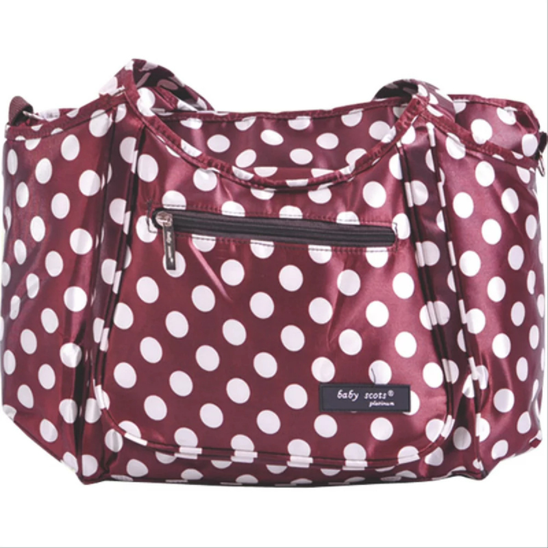 Baby Scots PlatinumScots Mommy Bag 027MB027 Maroon