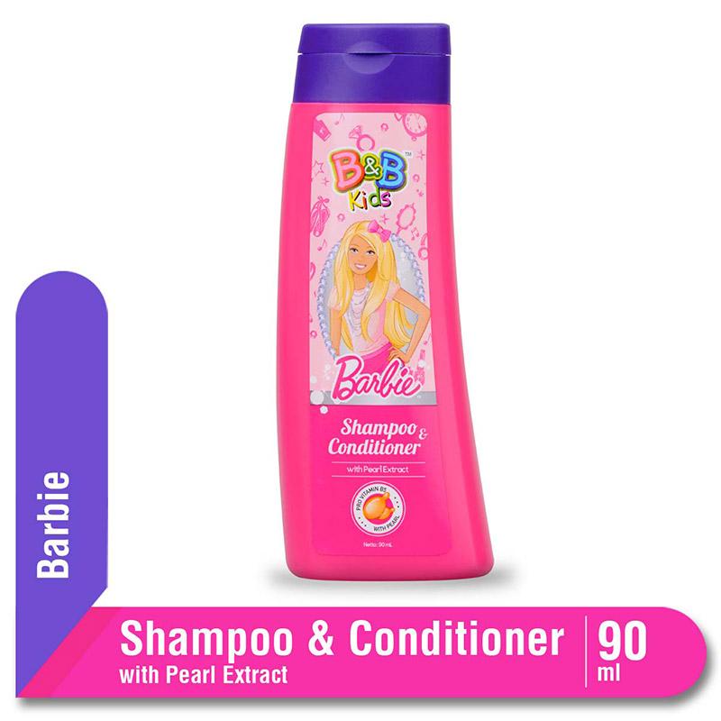 B&B Kids Barbie Shampoo Pearl 90 Ml