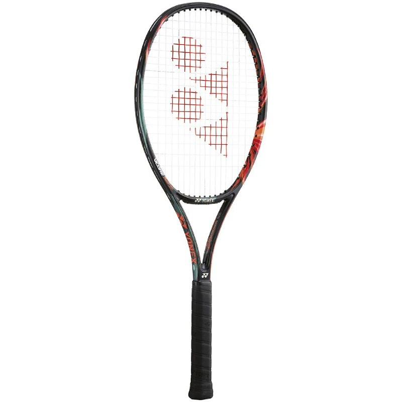 Yonex Vcore Duel G 100 300Gram Raket Tennis - Hitam-Orange