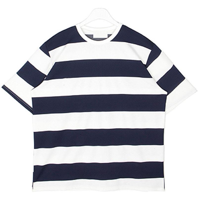 Fresh Bunddo Stripe T-shirt - Navy