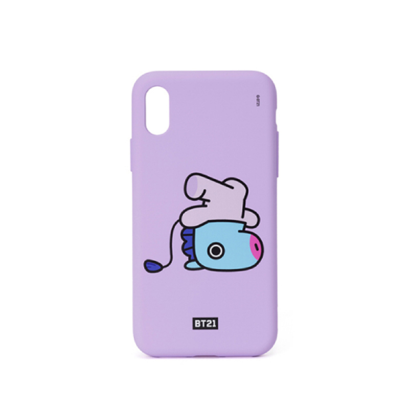 BT21 iPhone X Mang Silicon Case
