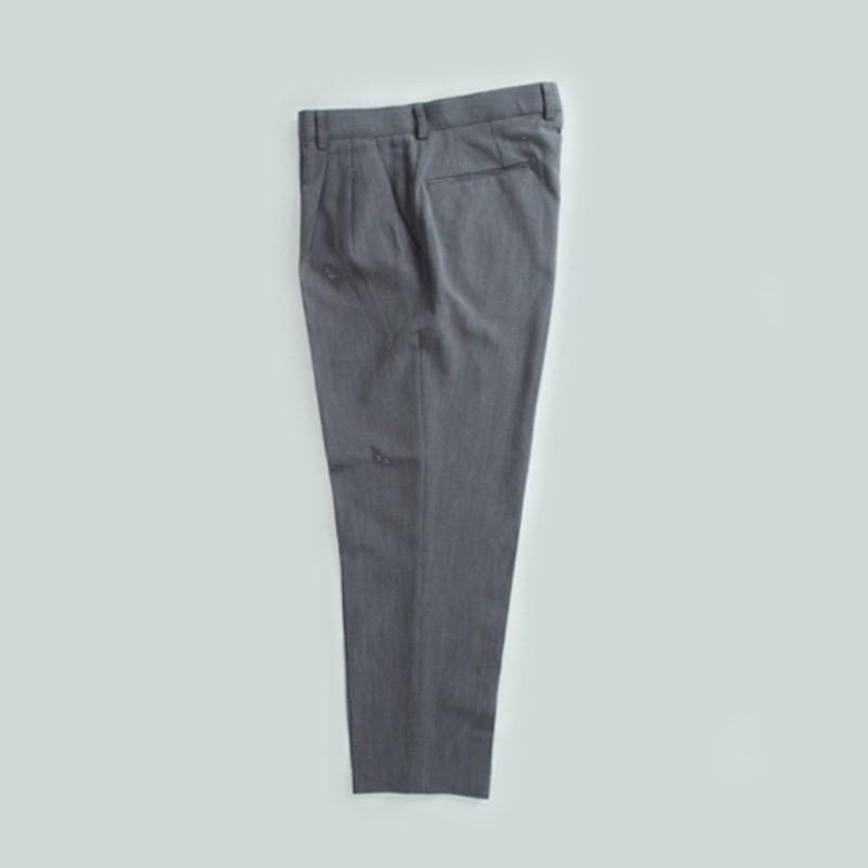 Wide-fit Cool Slacks - GRAY