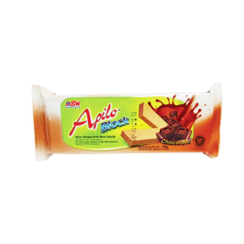 Apilo Blok Wafer Chocolate 90G