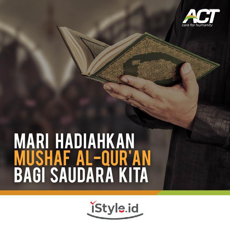 ACT - Sedekah Quran untuk Jutaan Saudara di Dunia 50K