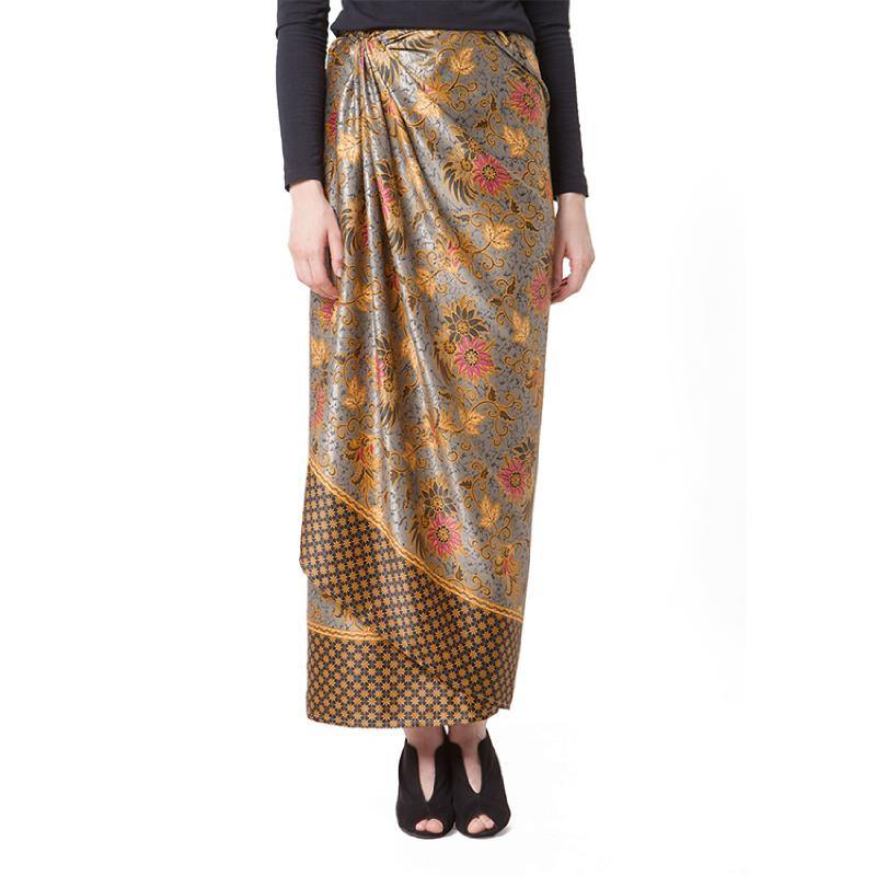 Raden Sirait Skirt Serut Ravana Grey