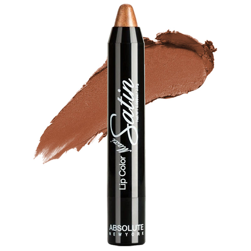 Absolute New York Lip Color Maxi Satin Bronze Shimmer