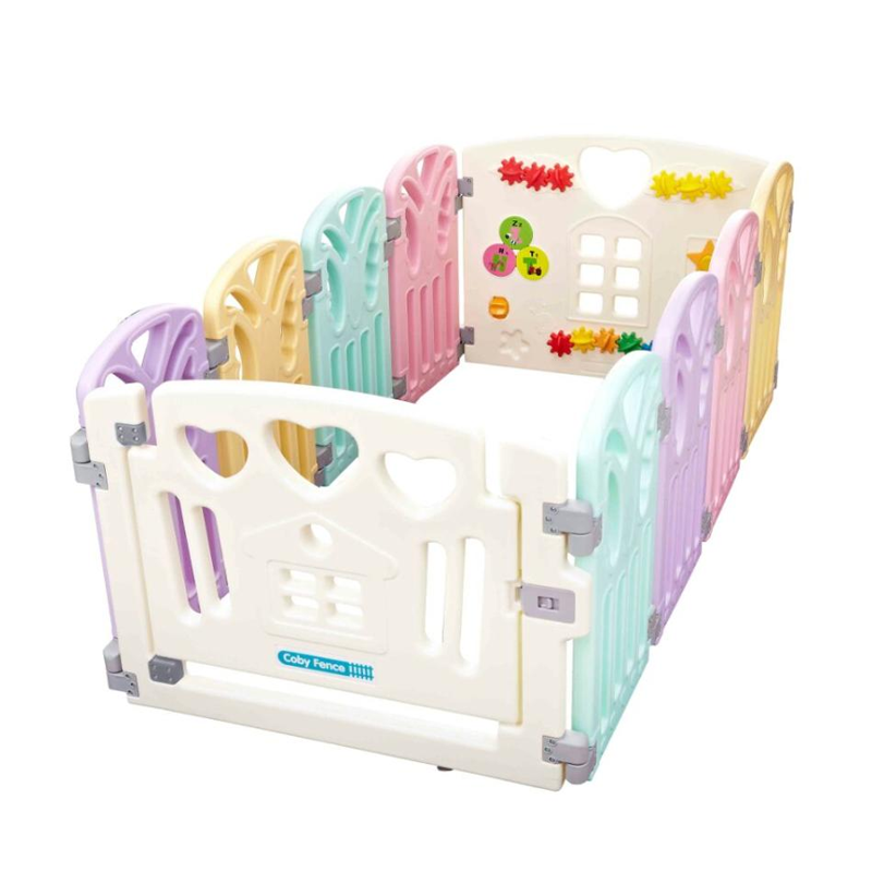 Coby Haus Fence 8 + 2 Butterfly New Pagar Pengaman Bayi NEW -