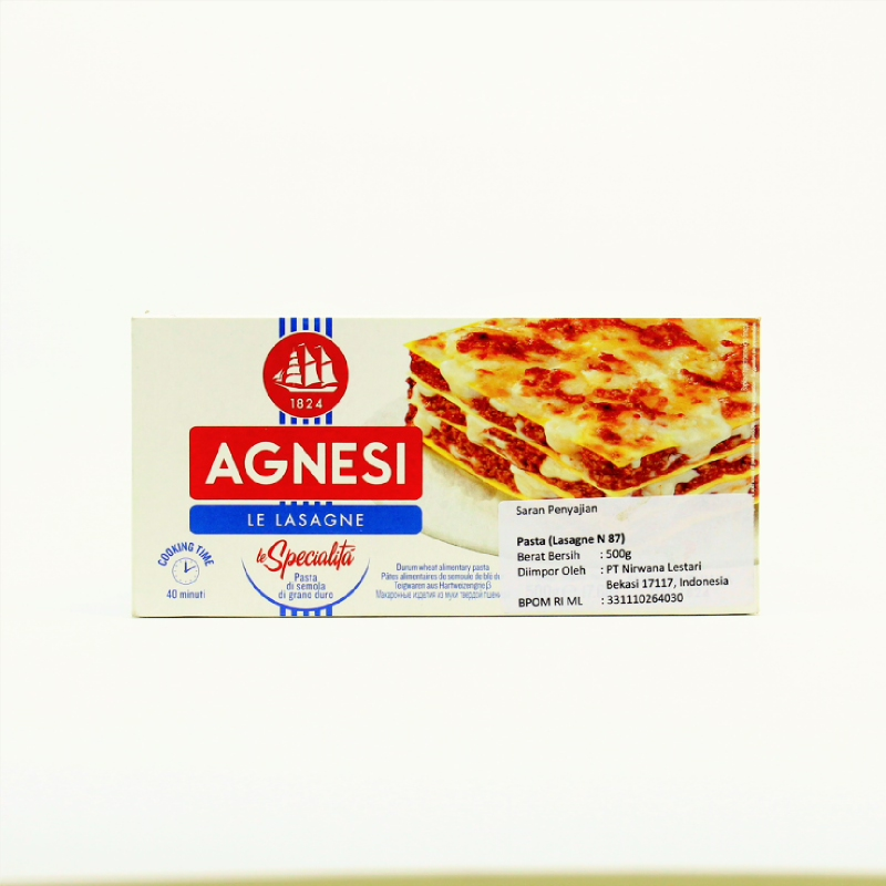 Agnesi Lasagne 500G