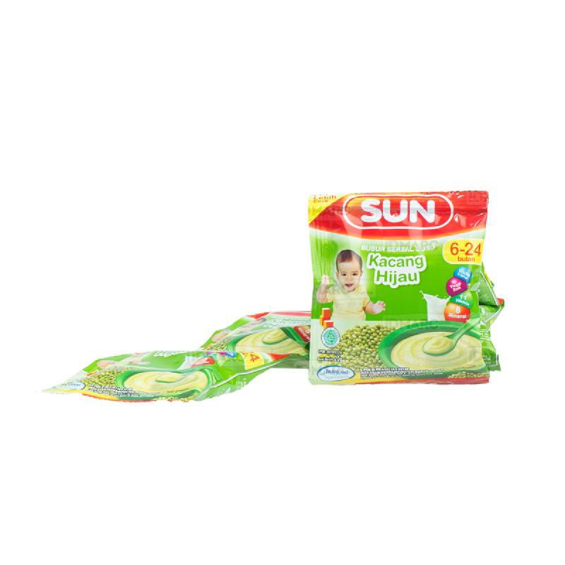 SUN Bubur Sereal Susu Kacang Hijau Sachet