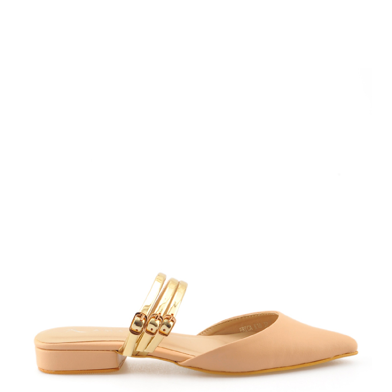 Amante Flat Shoes Erica L18 Nude