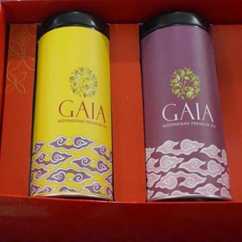 Gaia Tea - Hampers Box Small Red