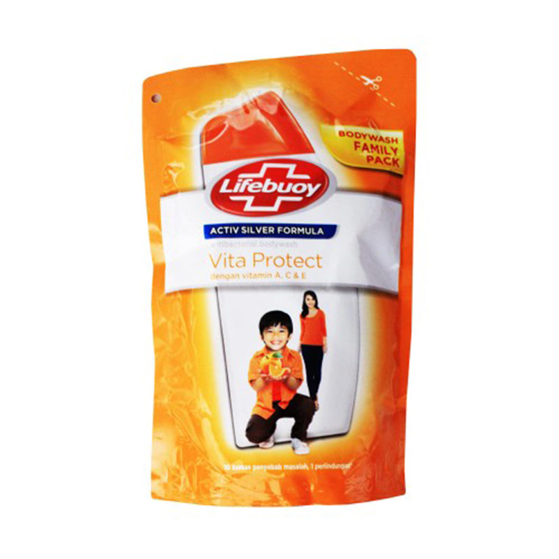 Lifebuoy Body Wash Vitaprotect Refil 450 ml