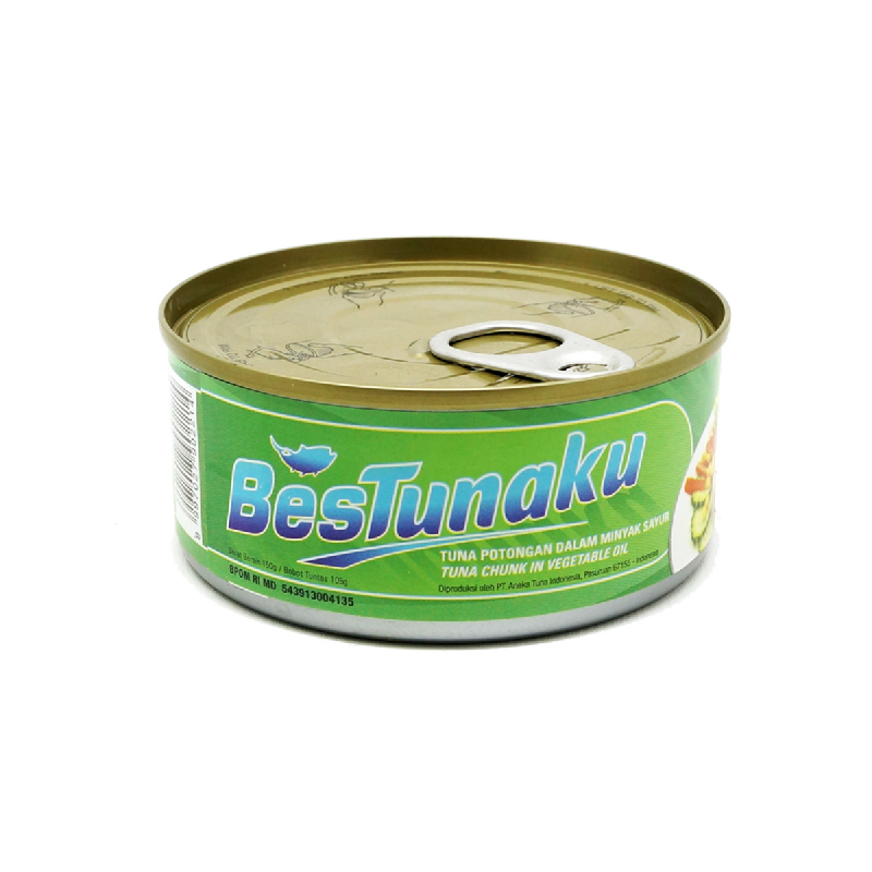 Best Tunaku Chunk In Oil 150 Gr