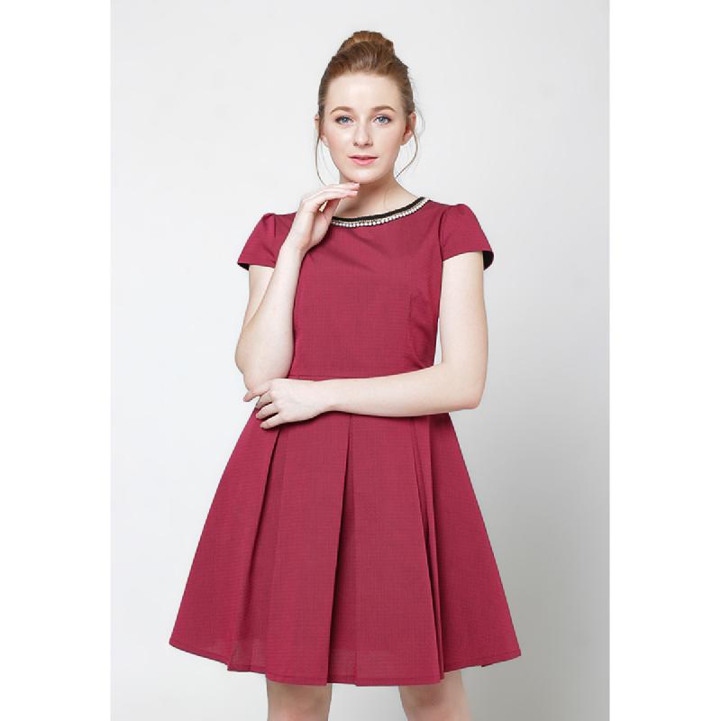 Agatha Agatha Ball Gown Red Dress Red
